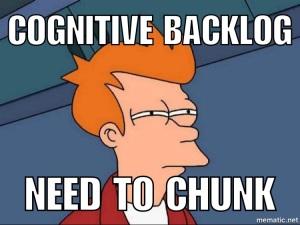 Cognitive Backlog